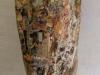 bois polychromme et collage